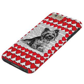 AMOR DEL INSECTO YORKIE DEL AMOR DEL CASO IPHONE6 FUNDA PARA iPhone 6 PLUS TOUGH