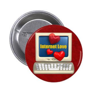 Amor del Internet Pin