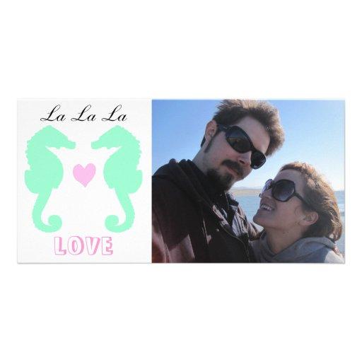 Amor del La del La del La Plantilla Para Tarjeta De Foto