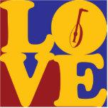 Amor del laúd escultura fotografica