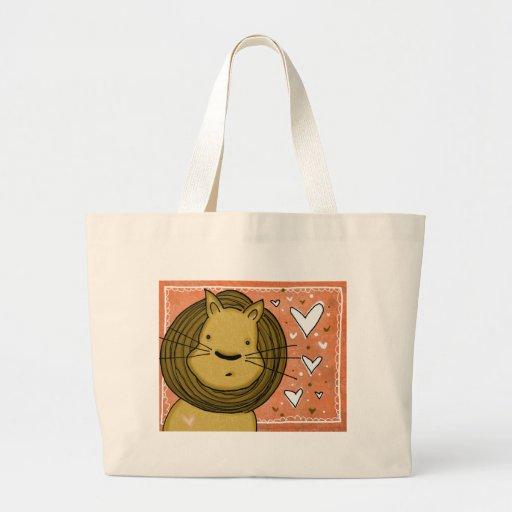 Amor del león bolsa
