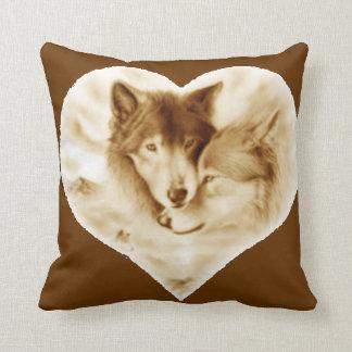 Amor del lobo almohada