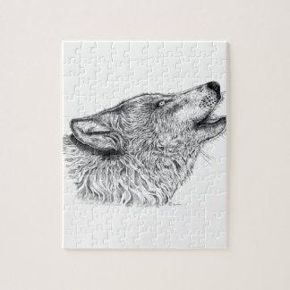 Amor del lobo rompecabeza con fotos