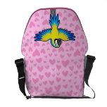 Amor del Macaw/del loro Bolsa Messenger
