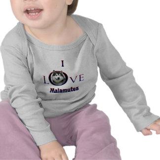 Amor del Malamute de Alaska I Camisetas