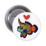 Amor del mandarín/de los pescados de Dragonet Pin