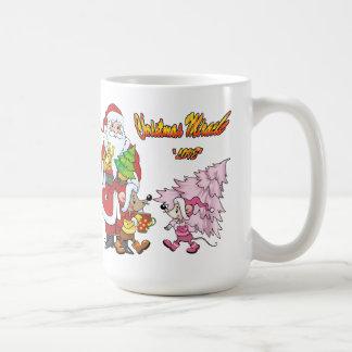 Amor del milagro del navidad taza de café