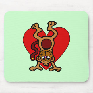 Amor del mono tapetes de ratones