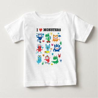 Amor del monstruo camisas