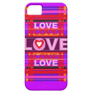 AMOR del multicolor iPhone 5 Fundas