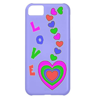 Amor del multicolor y caso del iPhone 5 de la lava
