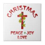 Amor del navidad azulejo ceramica