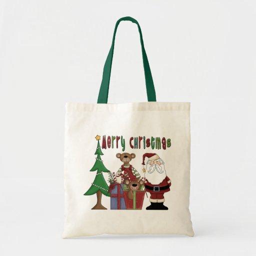 Amor del navidad bolsa tela barata