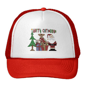 Amor del navidad gorros