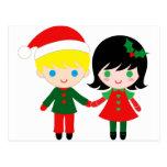 ¡amor del navidad! tarjetas postales