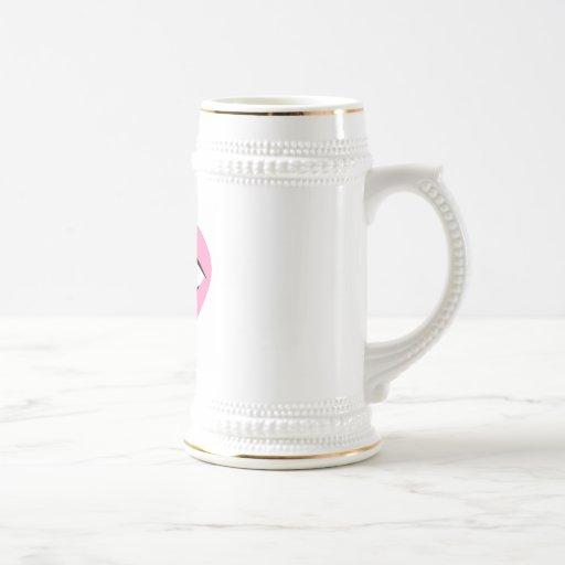 amor del ojo usted tazas de café