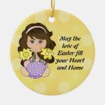 Amor del ornamento de Pascua Ornamento Para Arbol De Navidad