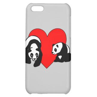 Amor del oso de panda