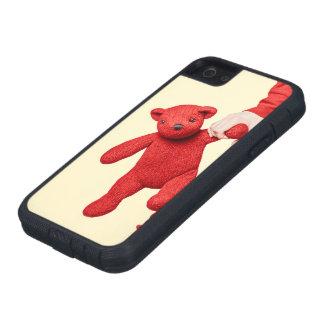 Amor del oso de peluche iPhone 5 fundas
