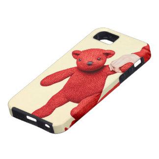 Amor del oso de peluche funda para iPhone 5 tough