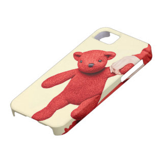 Amor del oso de peluche iPhone 5 carcasa