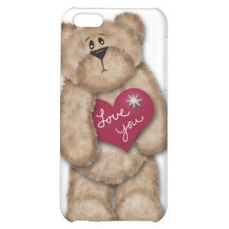 Amor del oso de peluche usted caso del iPhone 4