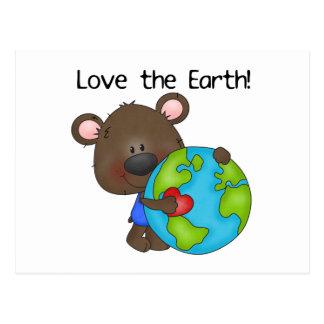 Amor del oso la tierra postales