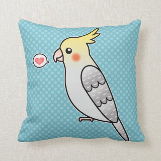Amor del pájaro del loro del Cockatiel del dibujo