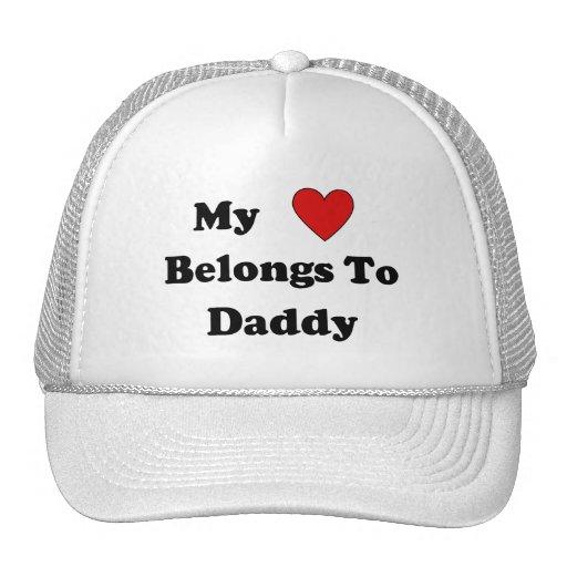 Amor del papá gorros