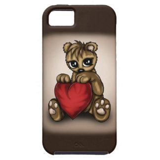 Amor del peluche iPhone 5 fundas