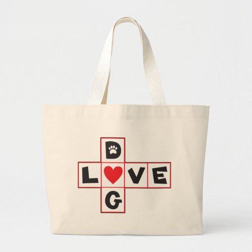 Amor del perro bolsas