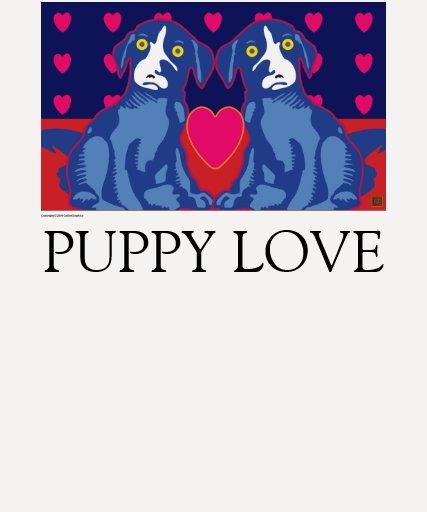 Amor del perro de Ballou Camiseta