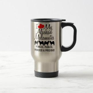 Amor del personalizado I mi taza de cuatro