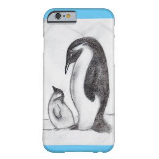 amor del pingüino funda barely there iPhone 6
