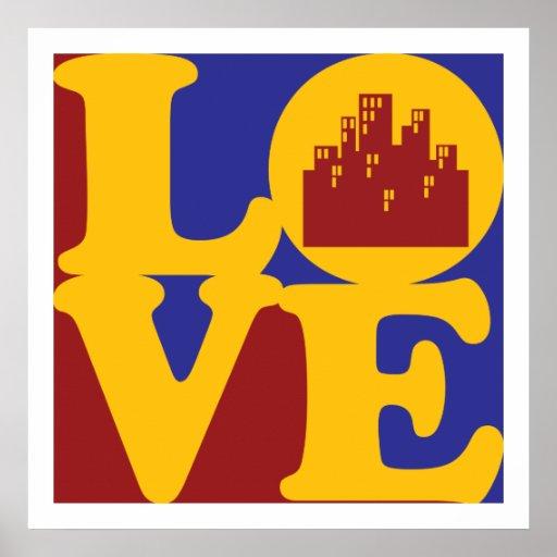 Amor del planeamiento urbano poster