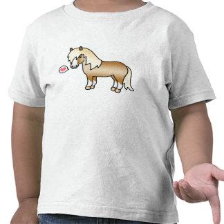 Amor del potro de Shetland del dibujo animado del  Camiseta