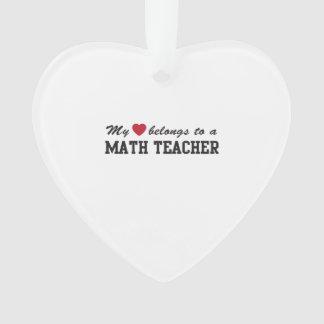 Amor del profesor de matemáticas