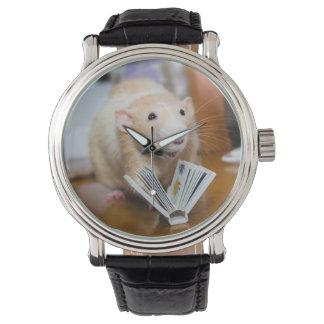 Amor del ratón I de Marty para leer el reloj