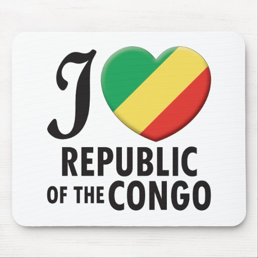 Amor del República del Congo Tapete De Raton