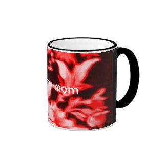 amor del rojo I mi taza de la mamá