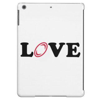 Amor del rugbi funda para iPad air