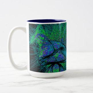 amor del shroom de los años 70 taza de café