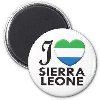 Amor del Sierra Leone Imanes Para Frigoríficos