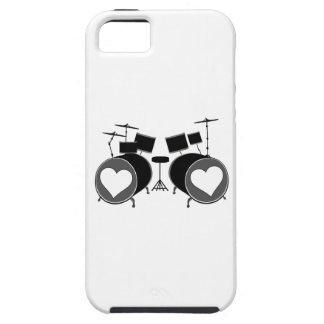 Amor del tambor iPhone 5 carcasa