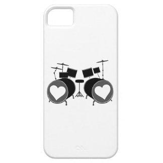 Amor del tambor iPhone 5 fundas
