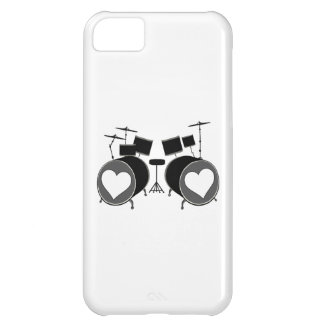 Amor del tambor funda para iPhone 5C