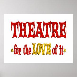 Amor del teatro impresiones