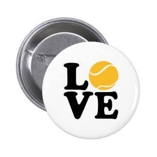 Amor del tenis pin