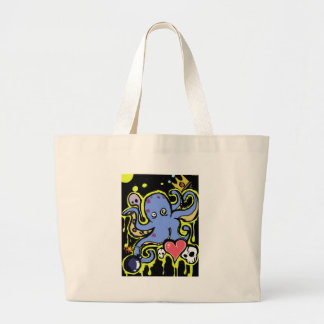 Amor del tentáculo y del cráneo bolsas