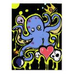 Amor del tentáculo y del cráneo postal